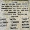 Honiton memorial